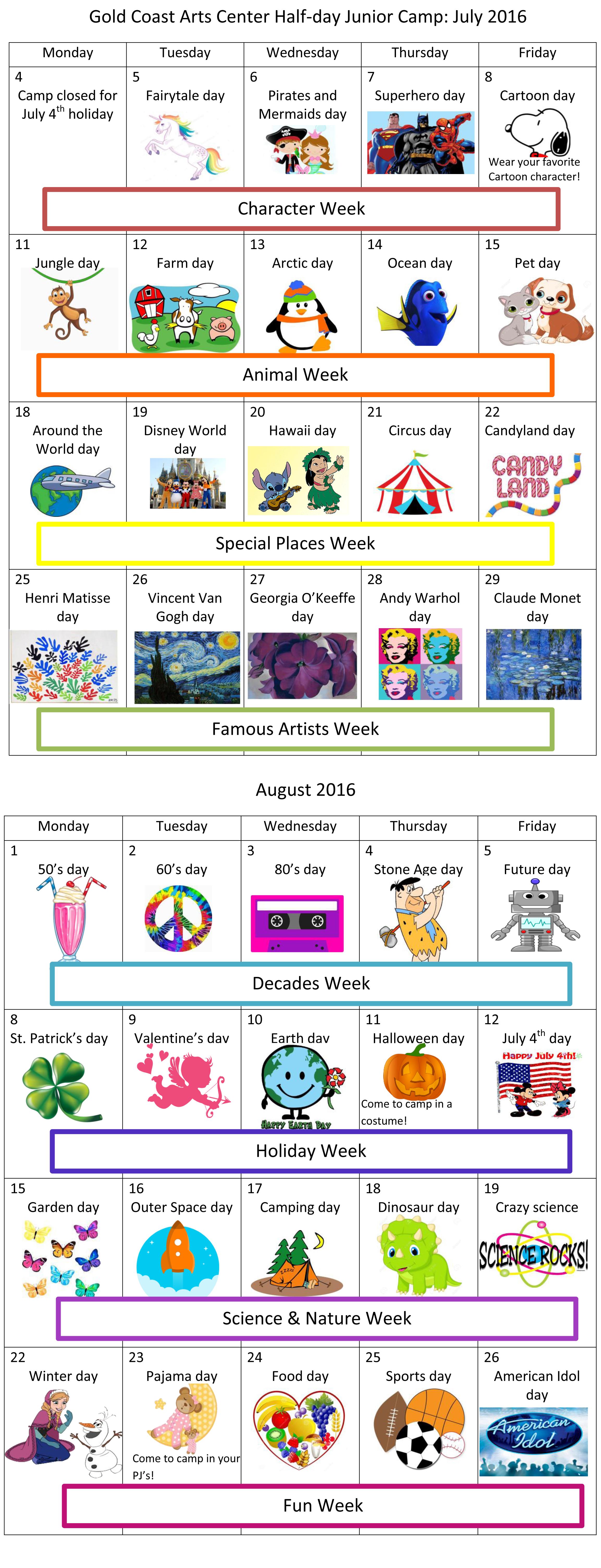 junior camp calendar 2016-1