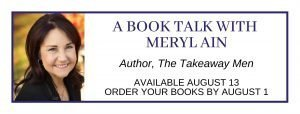 Book Talk with Author Meryl Ain @ Online Special Event