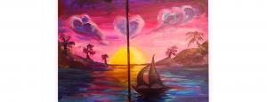 Valentines Workshop | Paint as a Pair @ Gold Coast Arts Center