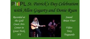 Irish Music Concert with Allen Gogarty and Donie Ryan