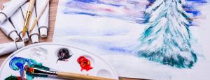 Winter Landscape Painting @ Gold Coast Arts Center